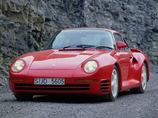 Bill Gates Porsche 959