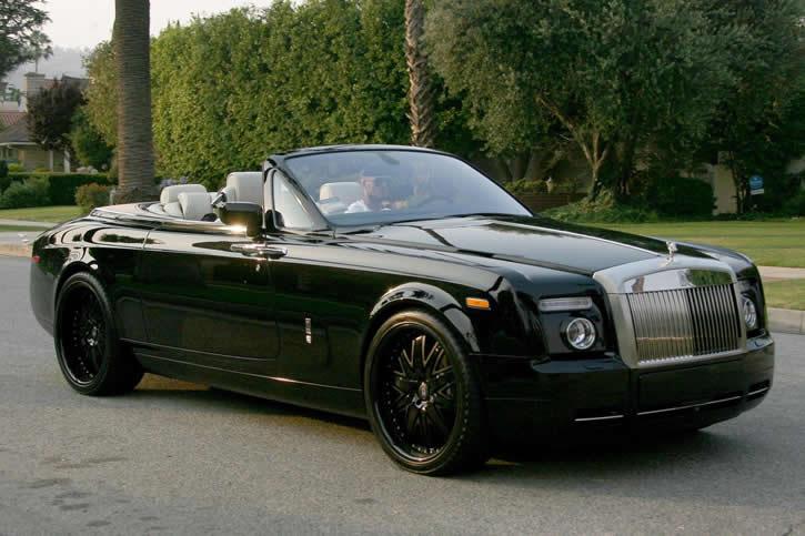 David Beckham Rolls Royce Phantom