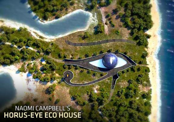 Horus-Eye Eco House