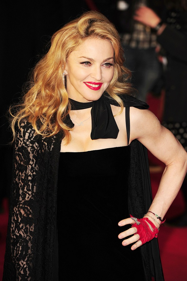 "Madonna attends the the UK premiere of the movie ""W.E"" held at Odeon Kensington in London"