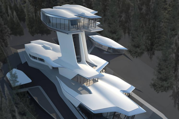Moscow Spaceship Home