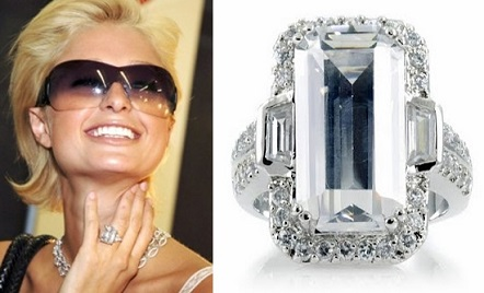 Paris Hilton's Engagement Ring