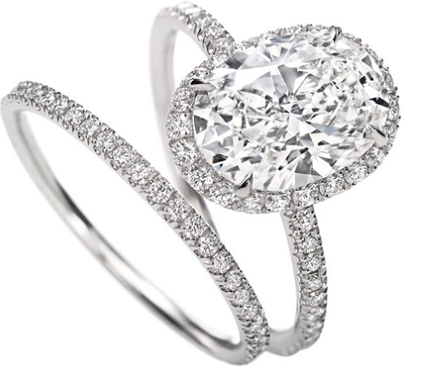 Tiffany Oval Diamond Ring